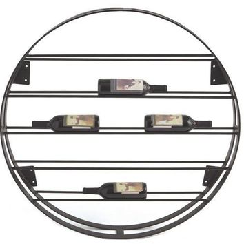 Round Ladder Wine Rack