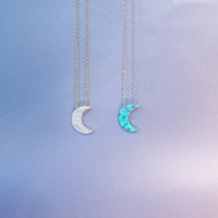 Moon Opal Necklace Best Seller Real Sterling Silver Absolutely Adorable!