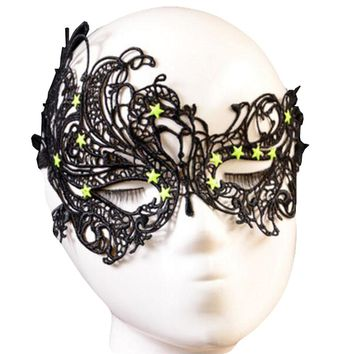 Princess Mask Women/Girls Sexy Lace Eye Mask For Halloween/ Masquerade Party-360