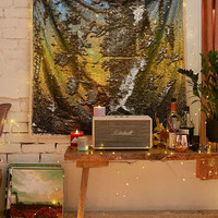 Ombre Reversible Sequin Tapestry   Urban Outfitters
