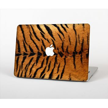The Real Tiger Print Texture Skin Set for the Apple MacBook Pro 13""