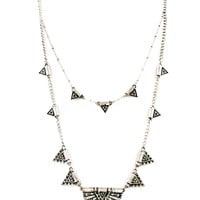 Tribal Dynasty Layering Necklace