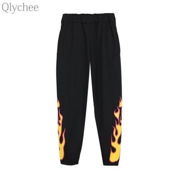 Womens Flame Joggers