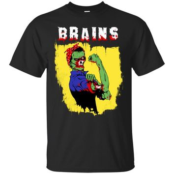 Rosie The Zombie t-shirt