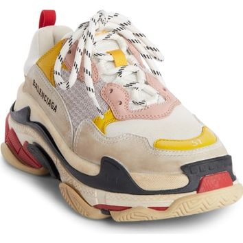 Balenciaga Triple S Low Top Sneaker (Women) | Nordstrom