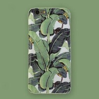 Non-slip Stiff Banana Leaf iPhone 7 7 Plus & iPhone 5s se & iPhone 6 6s Plus Case Personal Tailor Cover + Gift Box-170928