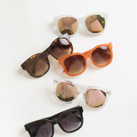 Miley Square Oversized Sunglasses