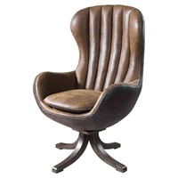 Garrett Mid-century Swivel Chair