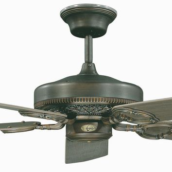 """52"""" French Quarter Ceiling Fan - Oil Rubbed Bronze"""