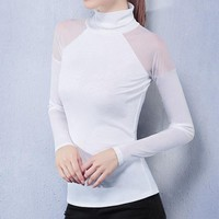 Shuri Like White Turtle Neck - Women